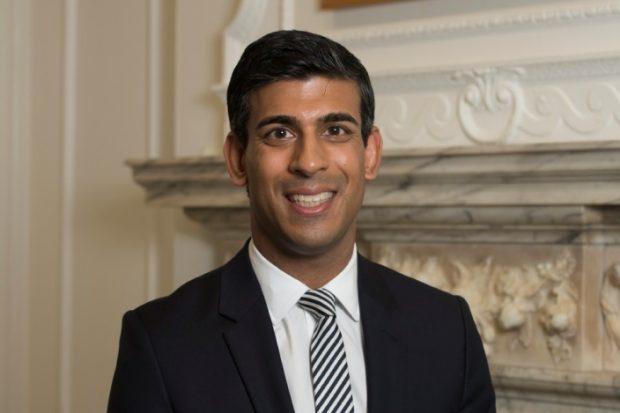 Head and shoulders photgraph of MHCLG Minister Rishi Sunak